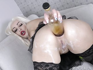 Dirty knockout KsuColt's extreme insertion and anal masturbation